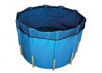 TRIPOND Faltbecken blau, 3.400 l