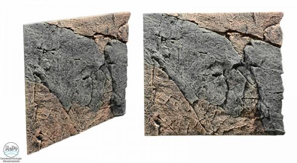 Slim Line Rückwand Basalt/Gneiss 50