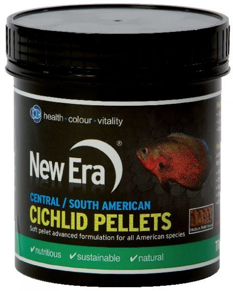 Central / Sth American Cichlid Pellets 120g