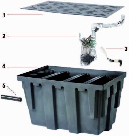 AquaForte Pumpenkammer/ Echo Kammer