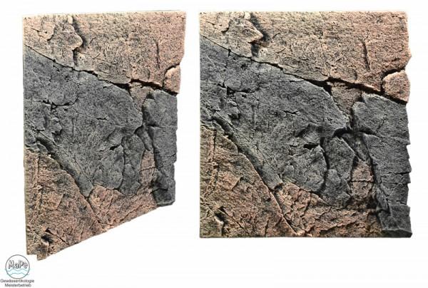 Slim Line Rückwand Basalt/Gneiss 60