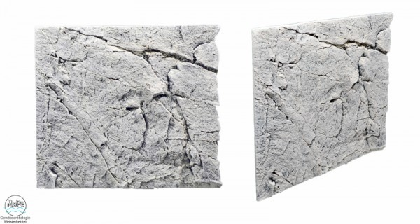 Slim Line Rückwand White Limestone 50