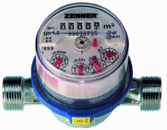 Wasserzähler Modell ETK QN 1,5