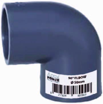 PVC Winkel 90° Econo line