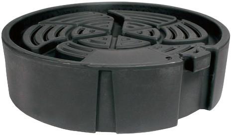 Runde Wasserbehälter fur Fontänen/Ornamenten Ø 80 cm