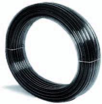 PVC Schlauch Typ Kristall Schwarz