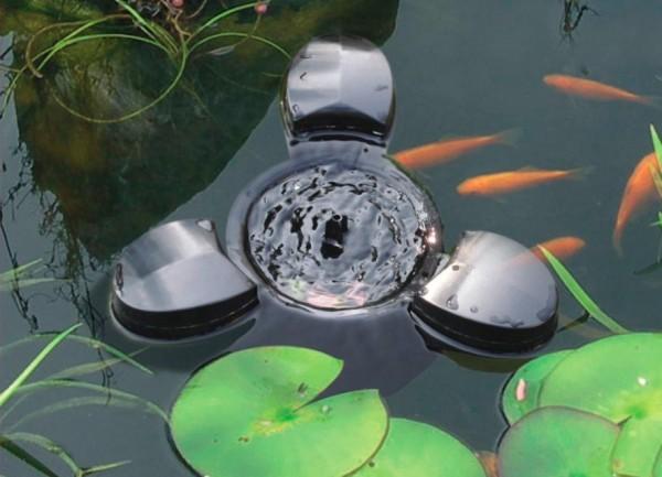 Schwimmender Skimmer mit Pumpe