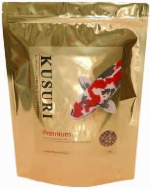 Kusuri Premium High Quality 1,5kg medium Pellets