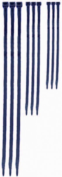 Kabelbinder Nylon 6.6 Schwarz