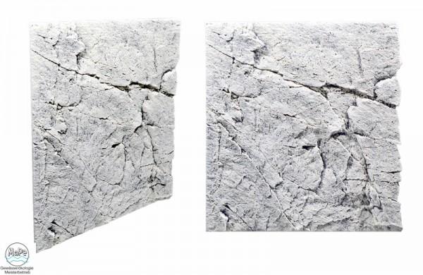 Slim Line Rückwand White Limestone 60